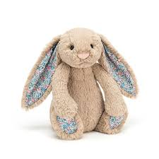 jellycat small blossom beige bashful bunny