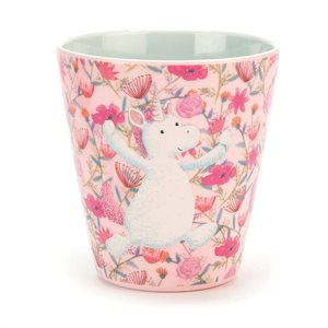 jellycat unicorn dreams melamine cup