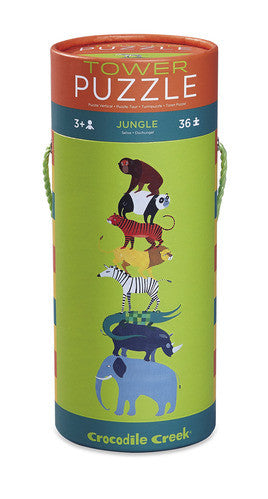 crocodile creek jungle tower puzzle