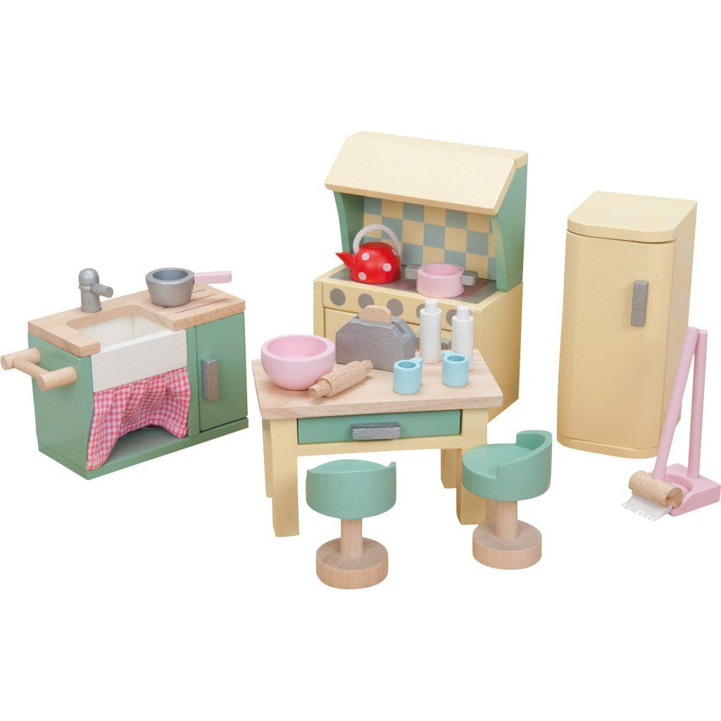 le toy van daisy lane dolls house furniture kitchen set