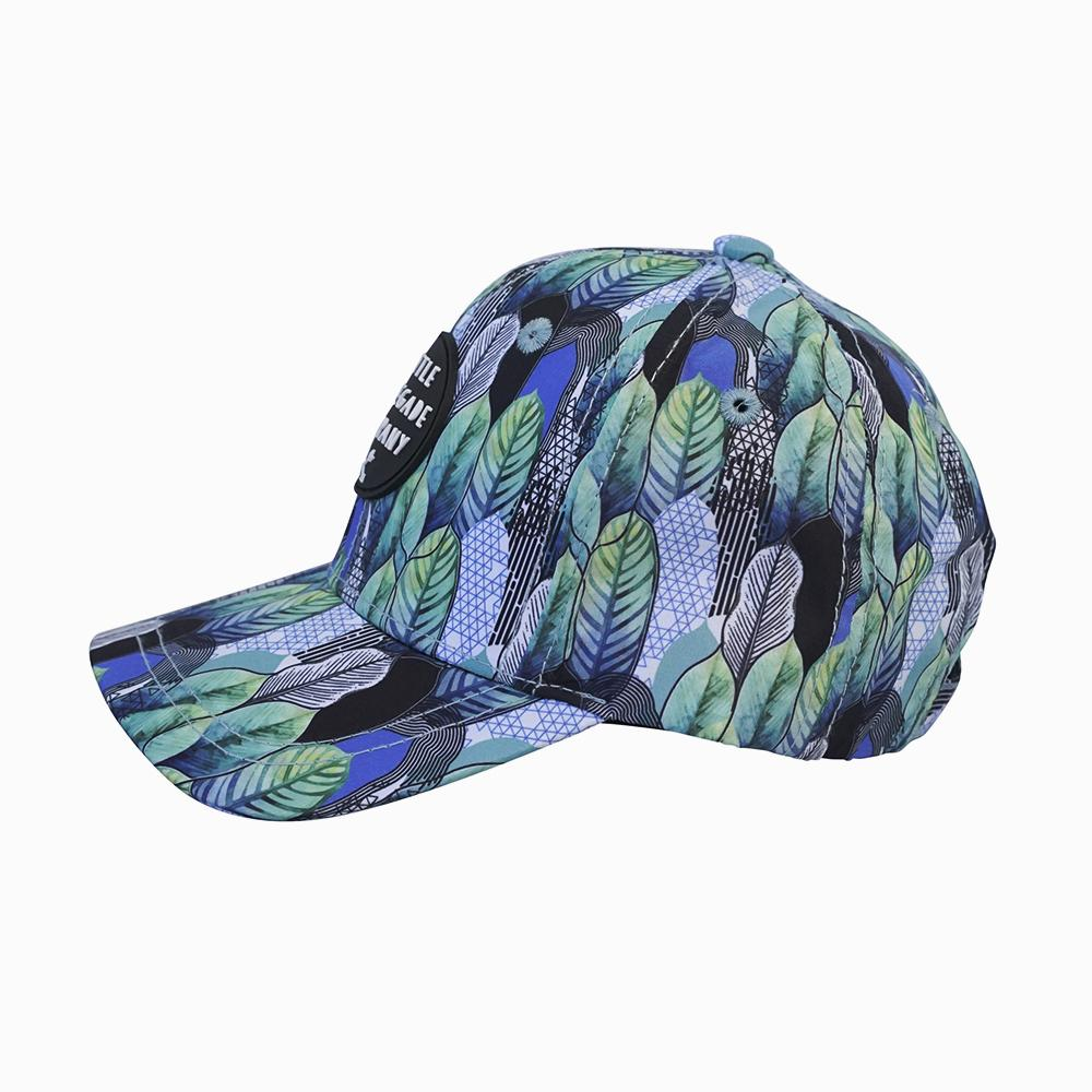 ittle renegade baseball cap in wilderness print