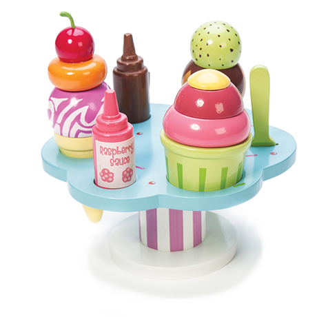 le toy van carlo's gelato wooden toy food set