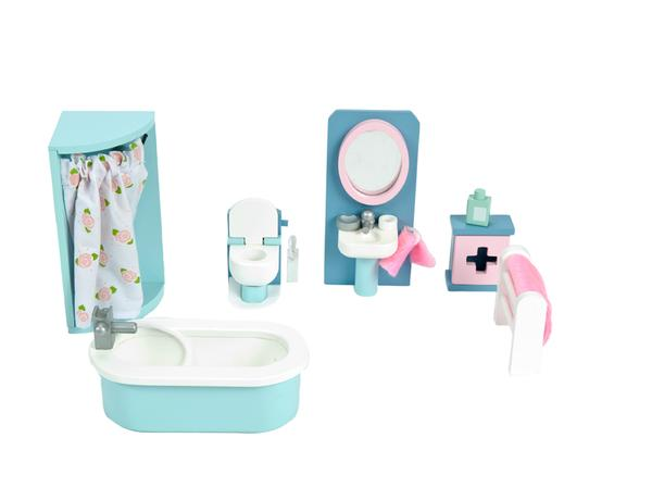 le toy van daisylane dolls house furniture bathroom