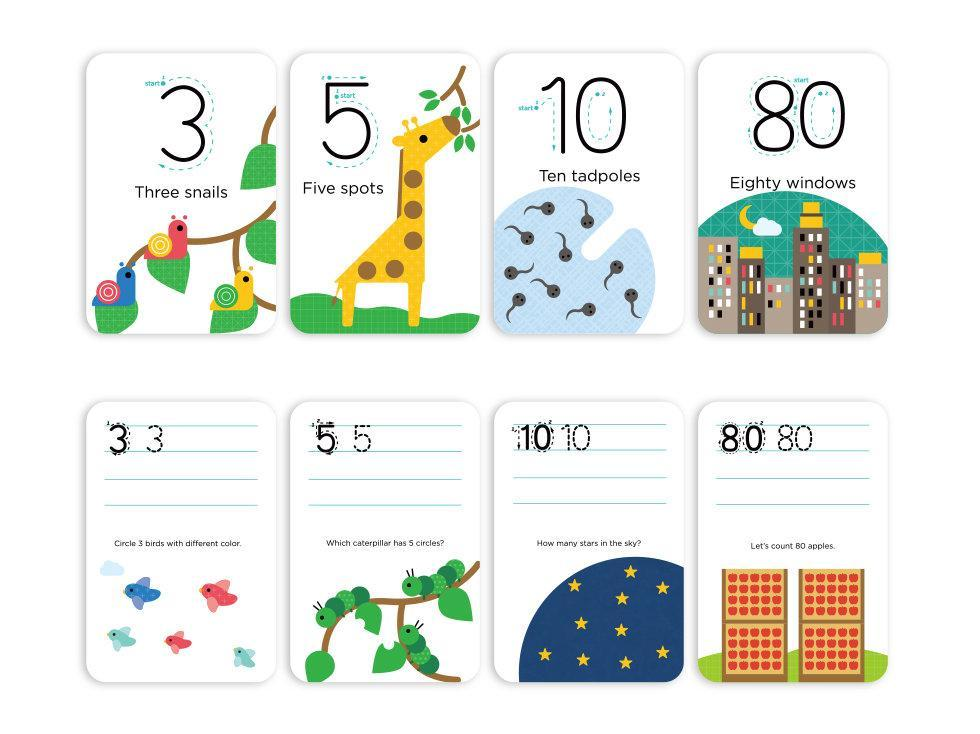 mieredu wipe clean activity set numbers