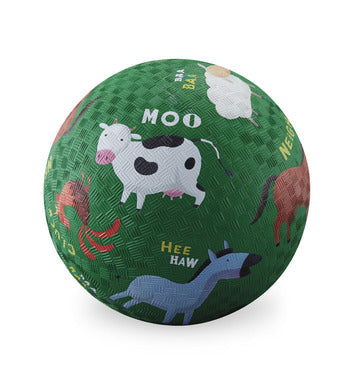 "crocodile creek 5"" playground ball barnyard"