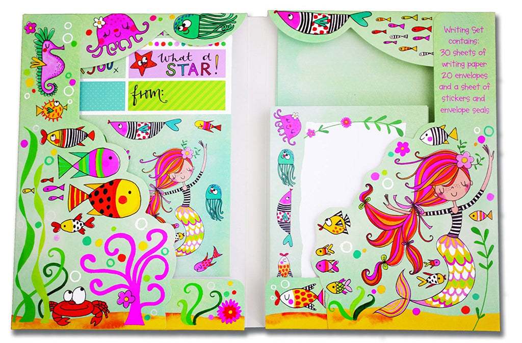 rachel ellen mermaid writing set