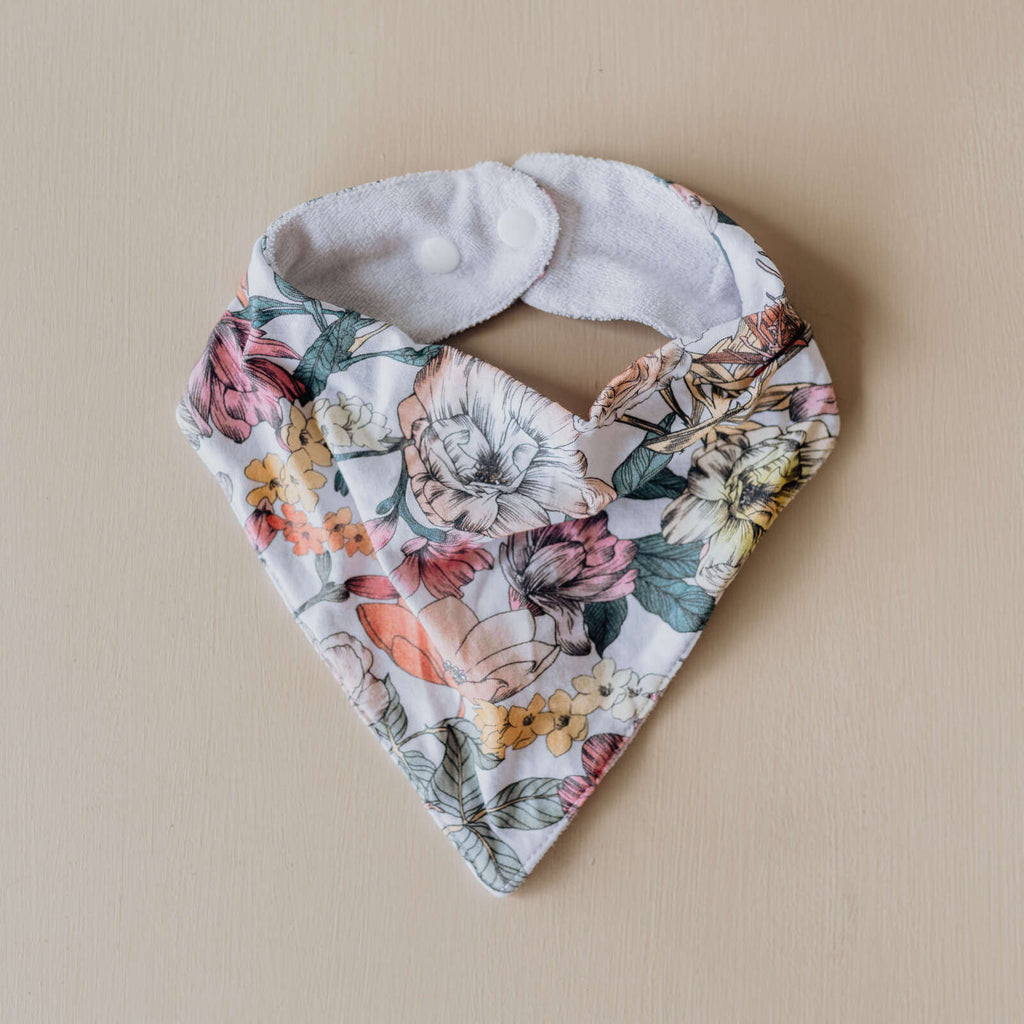 snuggle hunny kids dribble bandana bib in australiana