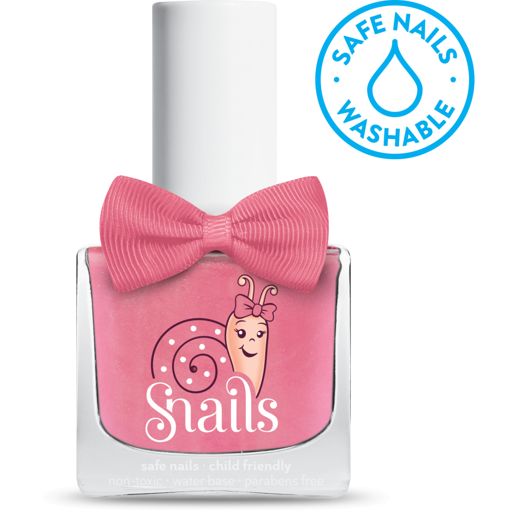 snails safe nails fairytale pink nail polish