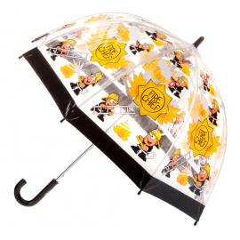 kids umbrella fireman print
