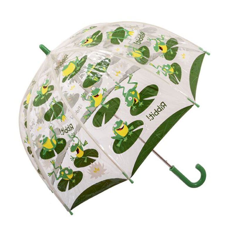 childrens umbrella frog pattern