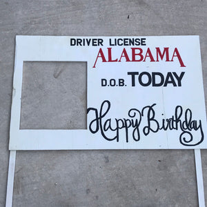 Alabama Driver's License