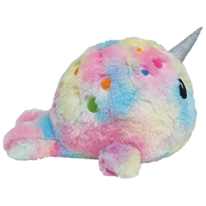 Scented Tie Dye Narwhal Pillow