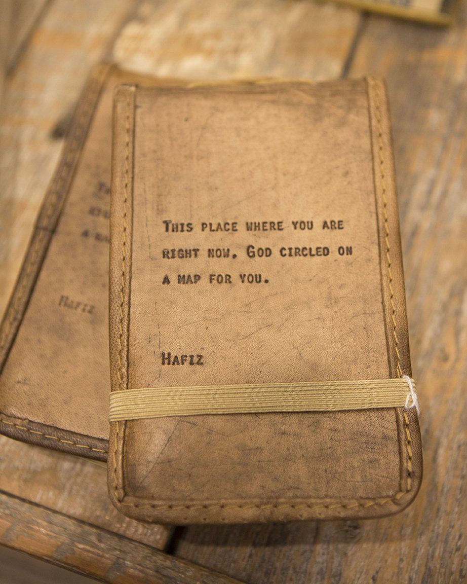 Leather Journal Hafiz