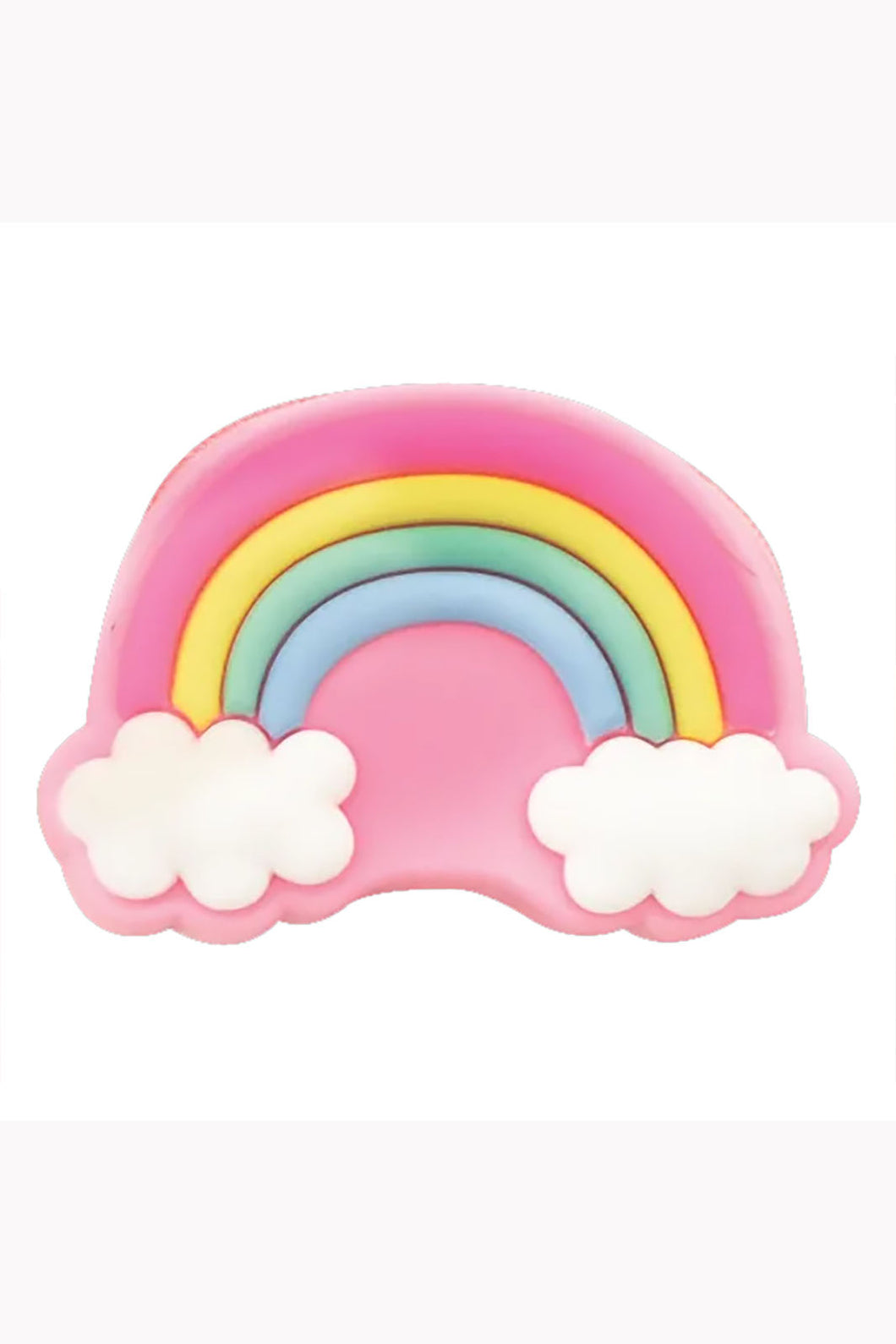 Pink Rainbow Silicone Coin Purse