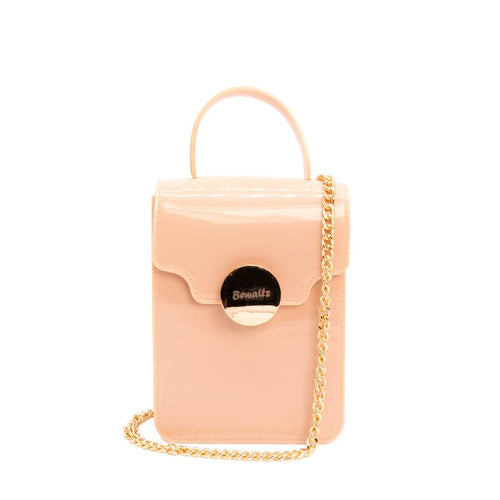 Nicola Mini Crossbody - Nude