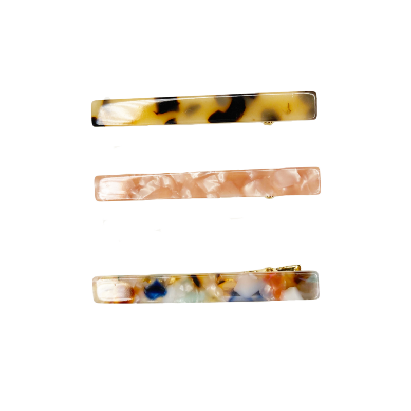 Tortoise Clips Set of 3