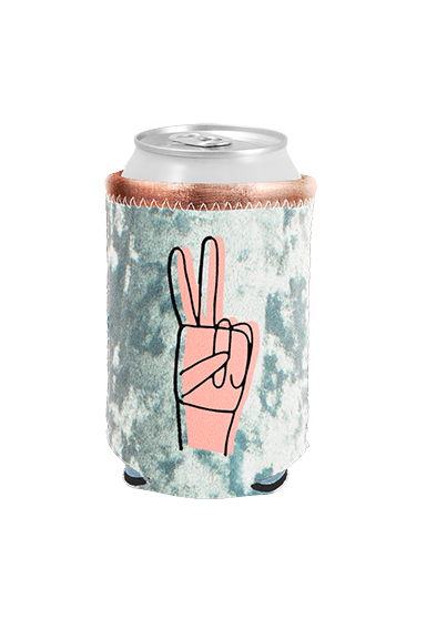 Peace Sign Can Cooler