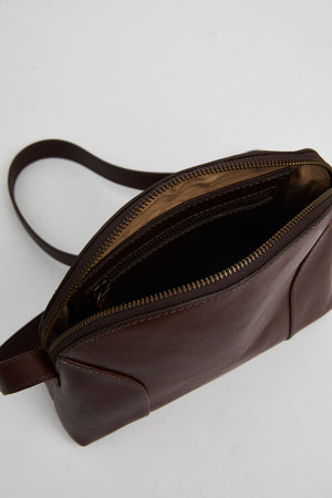 Able Marisol Crossbody Bag - Chocolate