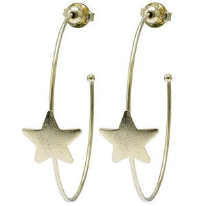 Ursa Star Hoops - Gold
