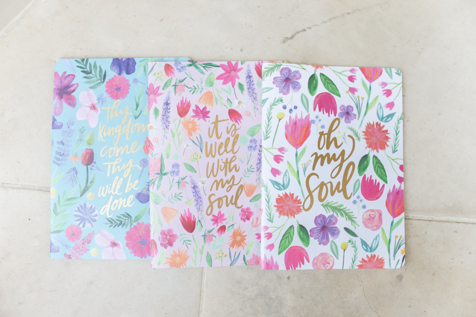 Notebook Set Floral