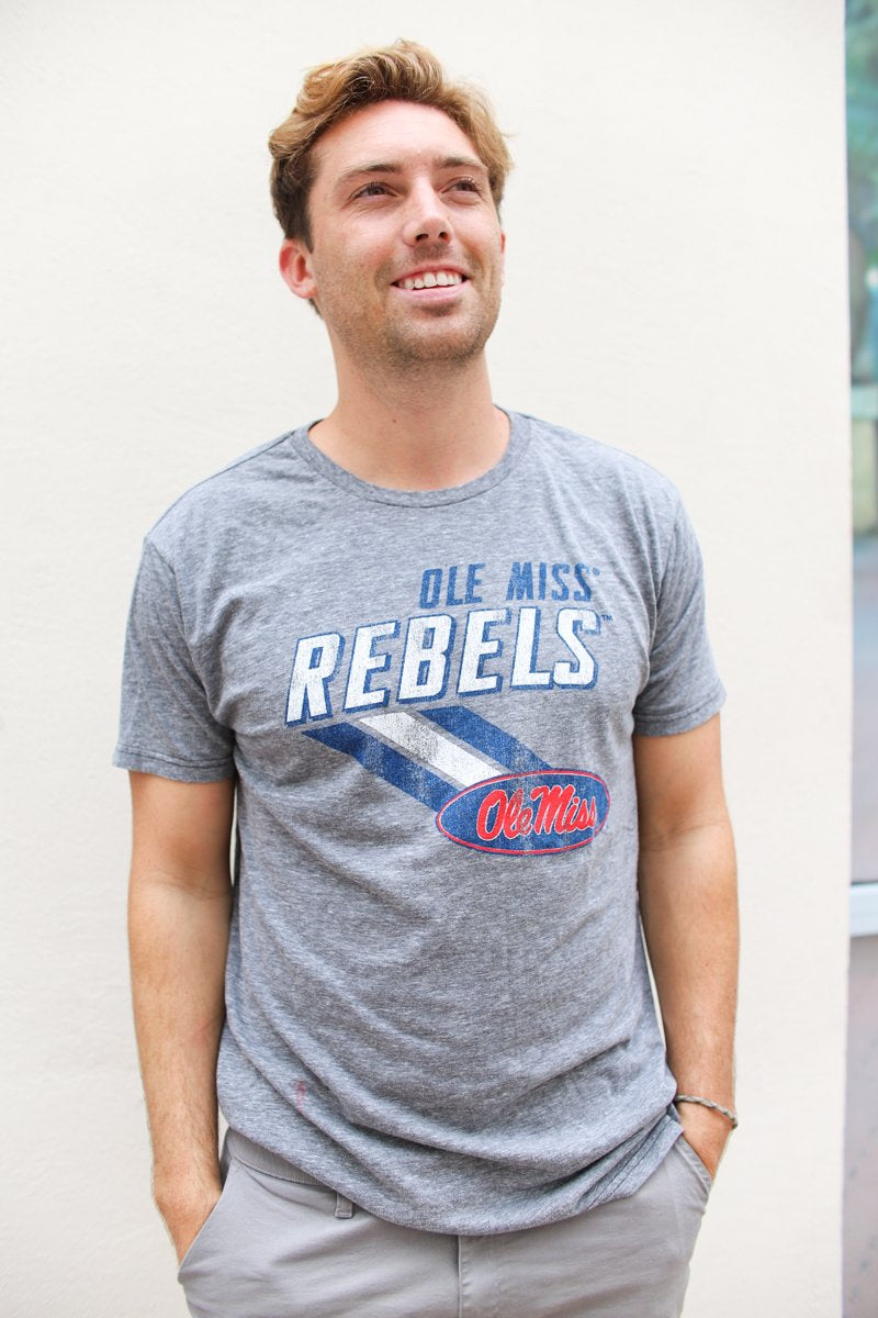 Ole Miss Tee - Grey