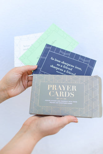 Prayer Cards Grey