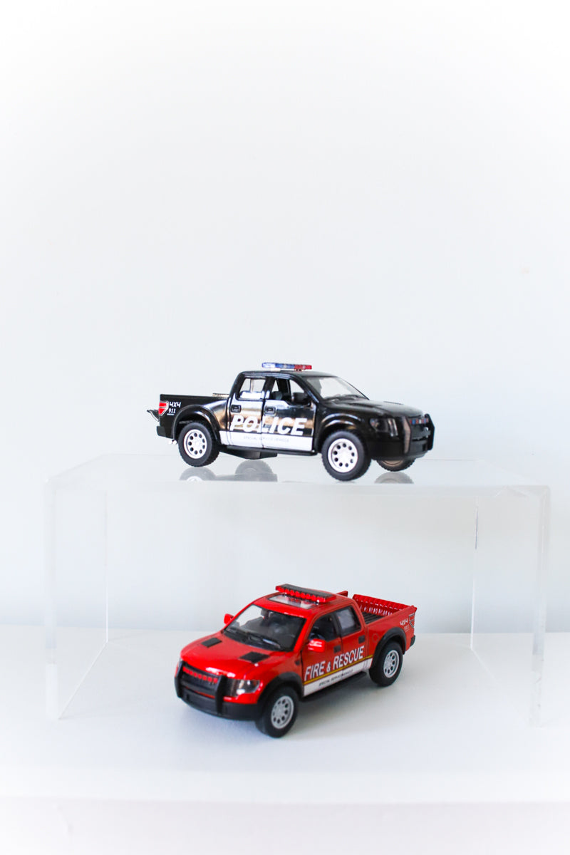 Die Cast Ford F-150 Police & Fire