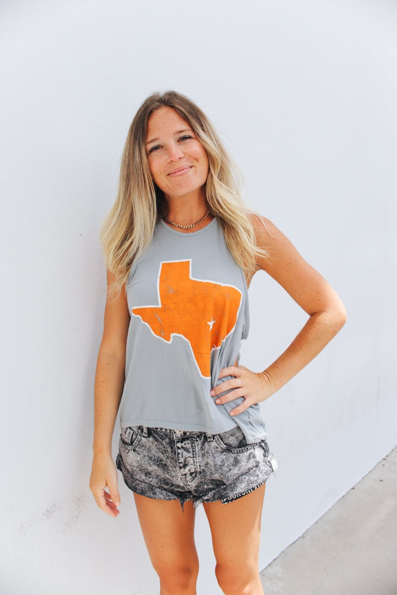 Texas Relaxed Racer Tank