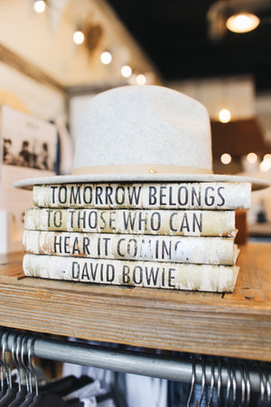 Decorative Book Set - David Bowie