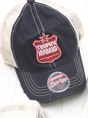 Trophy Husband Cap - Blue