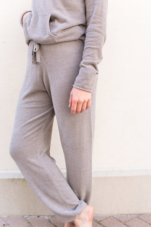 Barefoot Dreams Cozychic Ultra Lite Track Pant - Beach Rock
