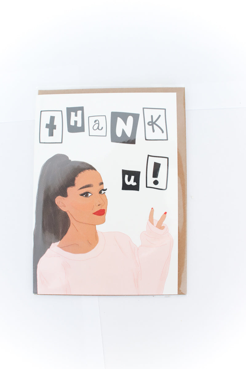 Ariana Grande Greeting Card