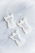 Angel Shaped Ornament (3 styles)