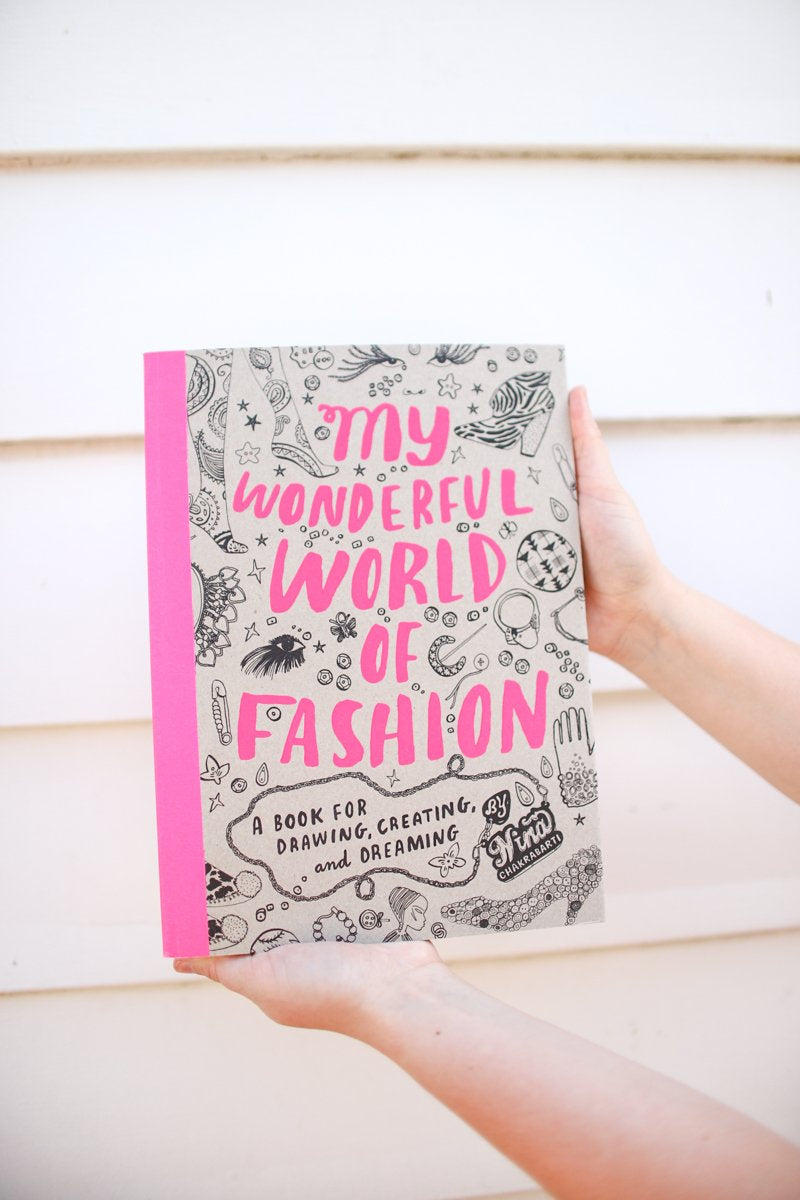 My Wonderful World Of Fashion Activity & Coloring Book