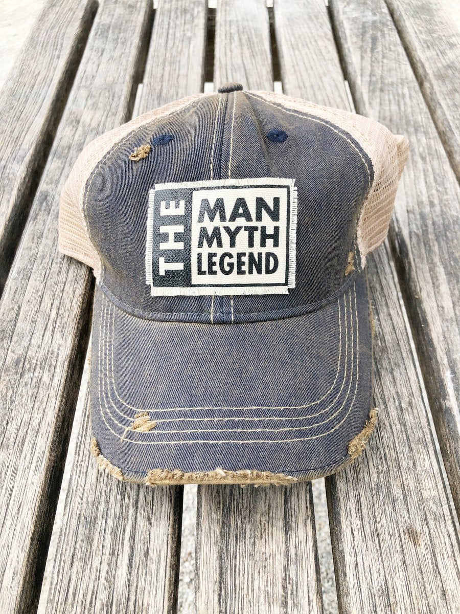 The Man Myth Legend Trucker Cap