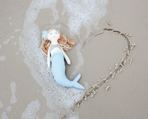 Mariel Blue Mermaid Doll