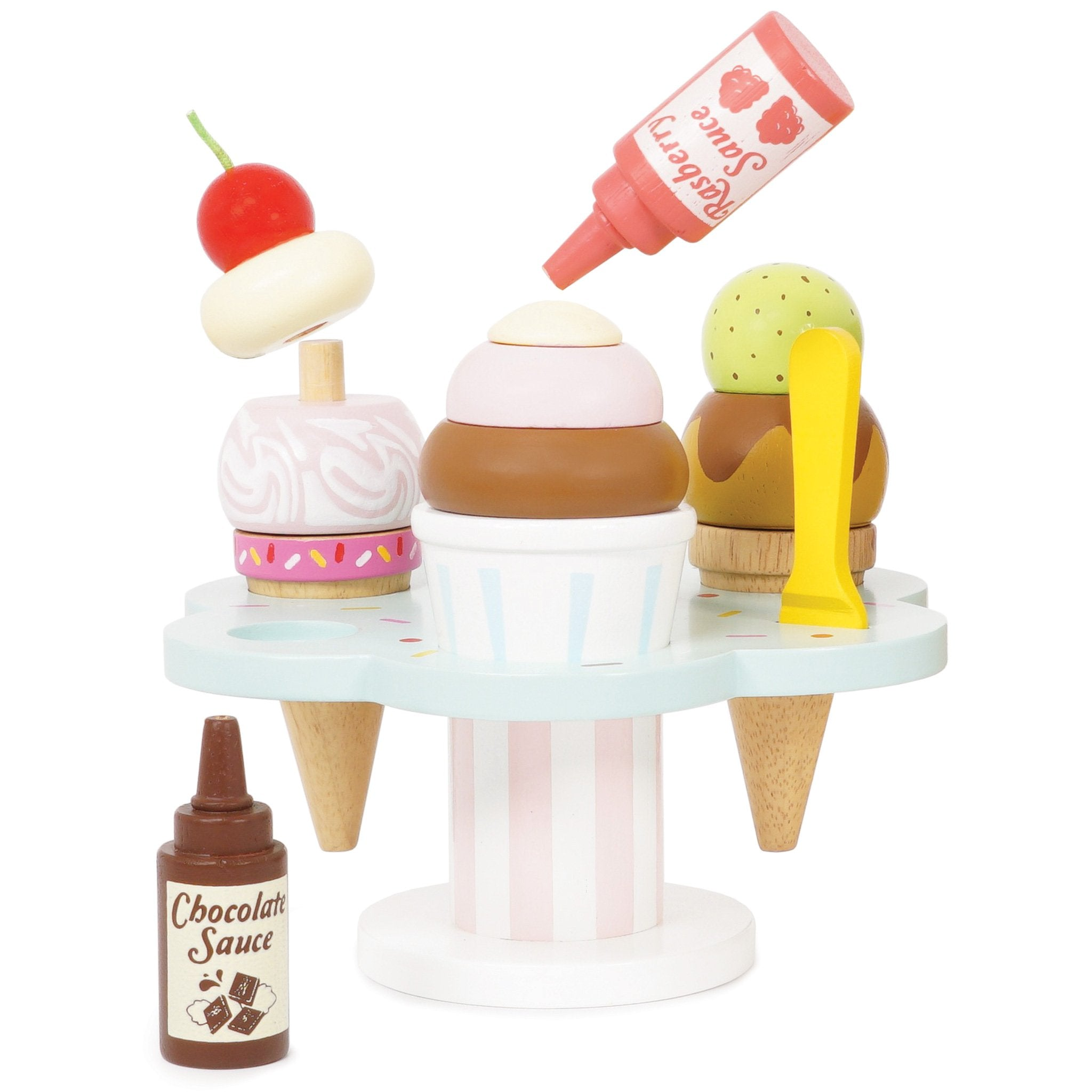 Carlo`s Ice Cream Stand Wooden Toy