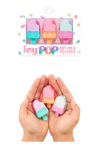 Icy Pops Scented Erasers
