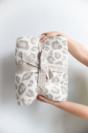 Barefoot Dreams Cozychic Safari Blanket