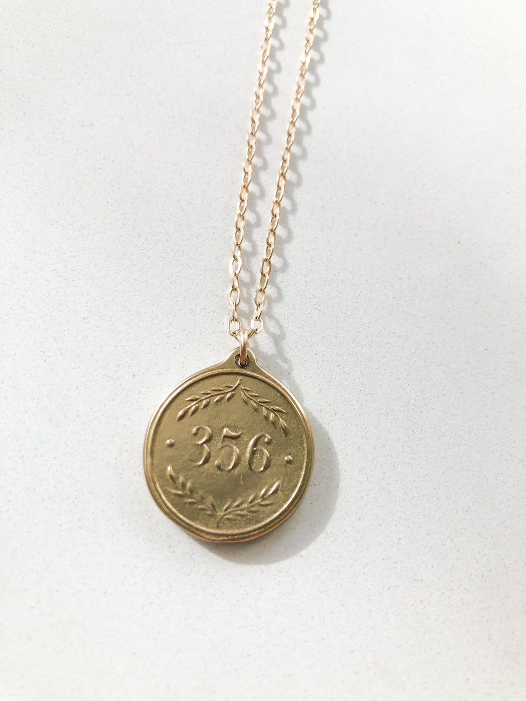 Short Pendant Necklace Proverbs 3:5-6
