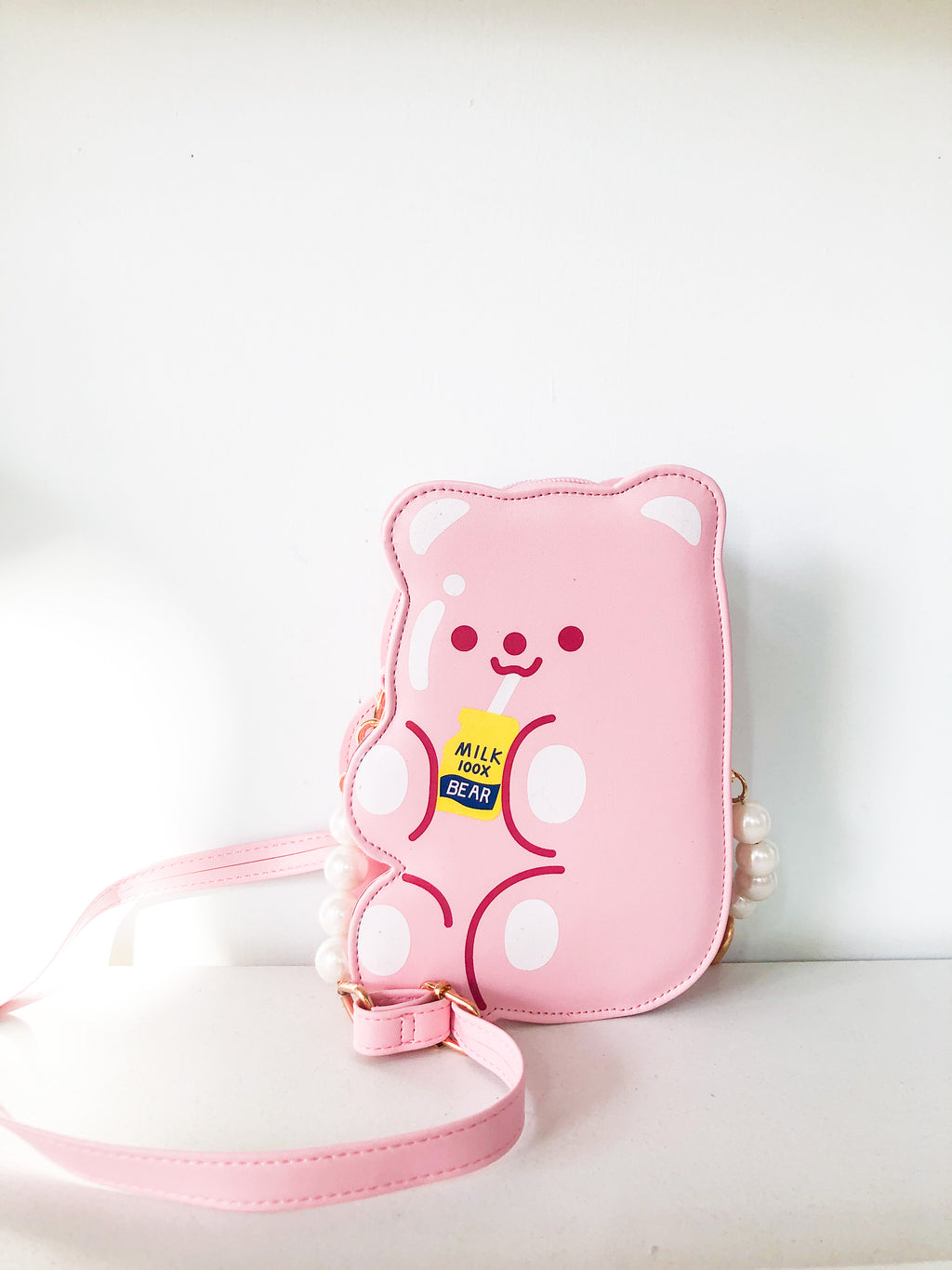 Cute Bear Crossbody Bag