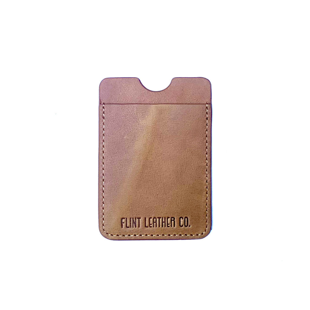 Flint Leather Co. Phone Wallet
