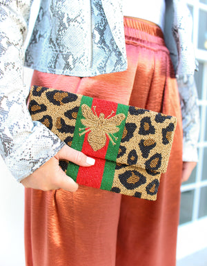 Gucci-Inspired Bee Clutch