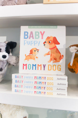 Baby Puppy Mommy Dog Book