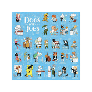 Dogs With Jobs 500 Piece Puzzle