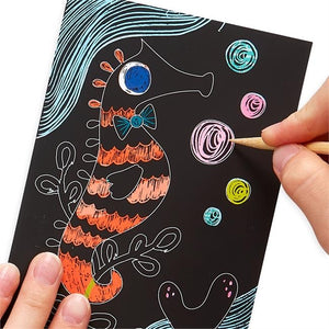 Mini Scratch & Scribble Friendly Fish