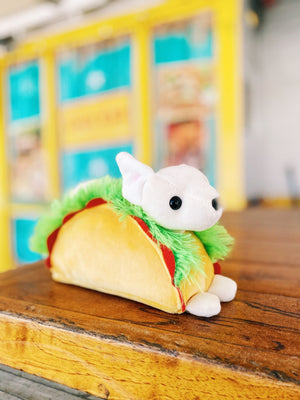 Macaroon Taco Chihuahua Stuffed Animal