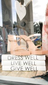 Book Set - Dress Well, Live Well, Give Well