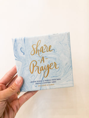 Share a Prayer Cards Blue Marble