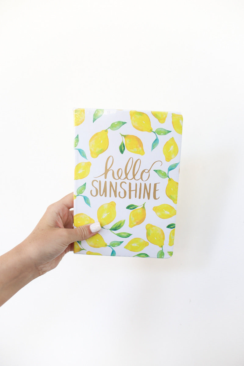 Eccolo Hello Sunshine Journal